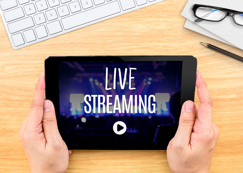 Live-stream on Social Media